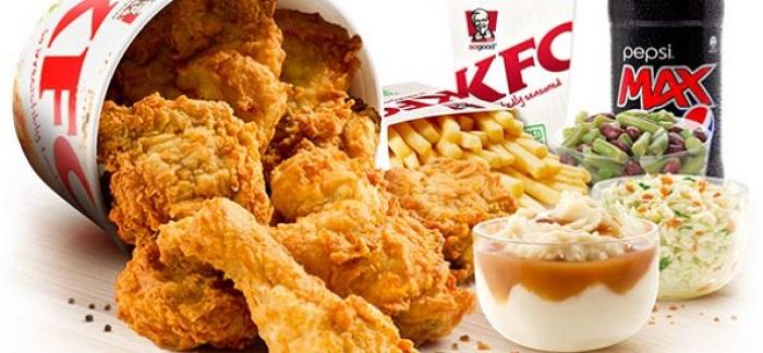 Продукция KFC