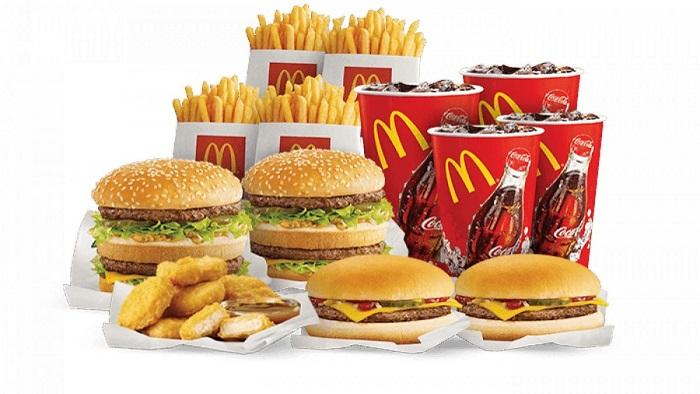 Еда из Макдональдса