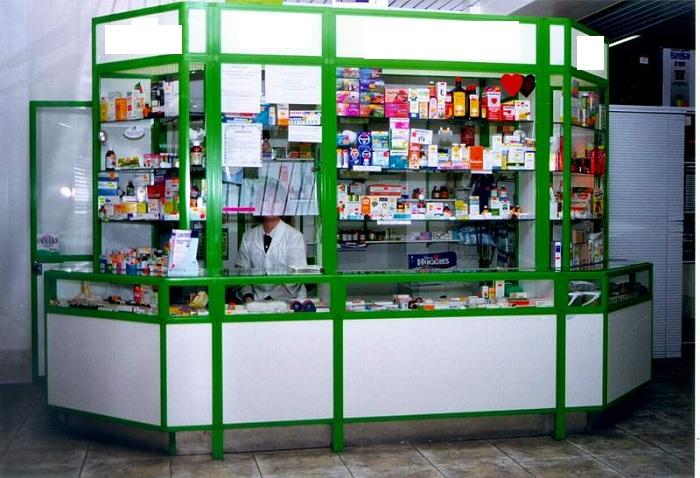 Аптечный киоск