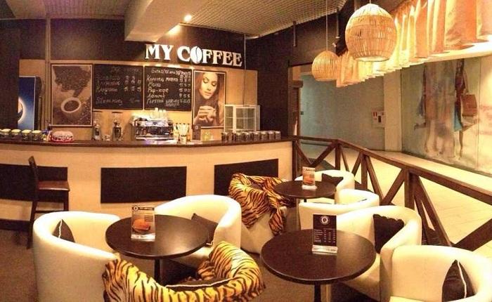Компактная кофейня