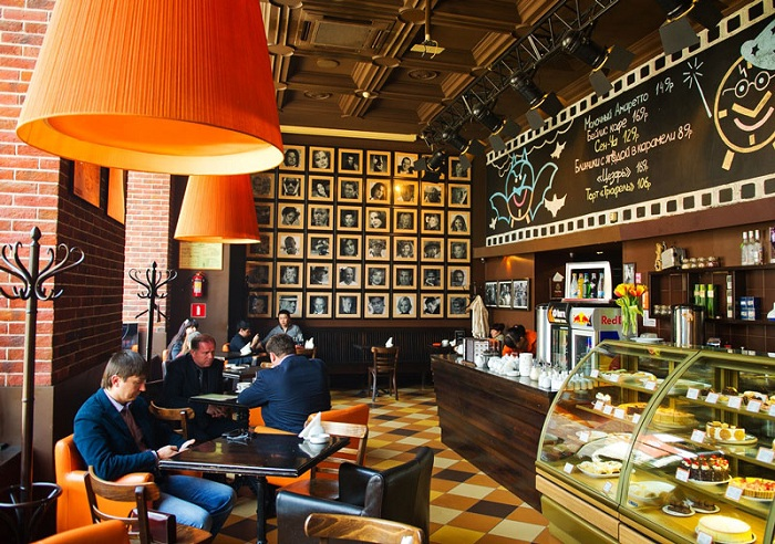 Дизайн кофейни