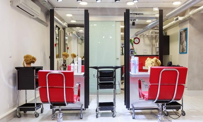 Интерьер в парикмахерской