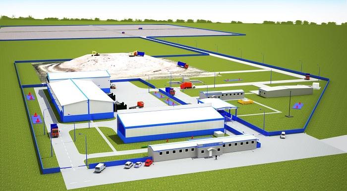Проект мусороперерабатывающего завода 2