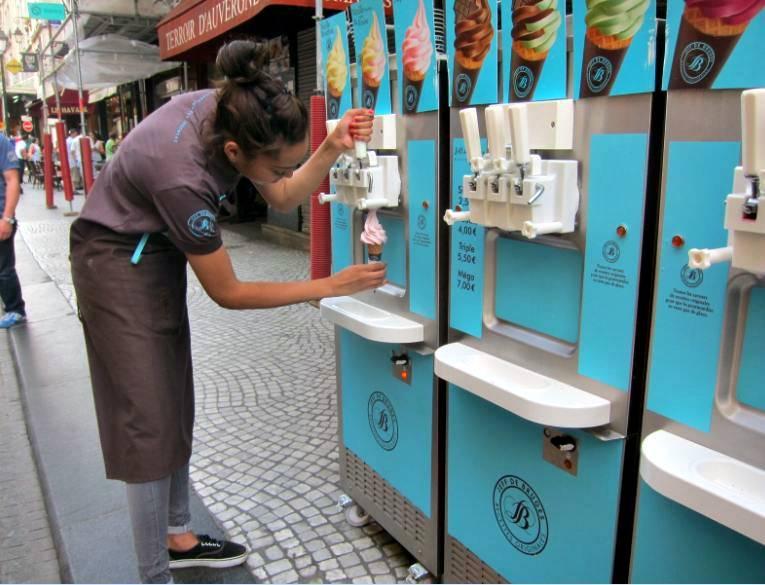 Автомат с мороженым
