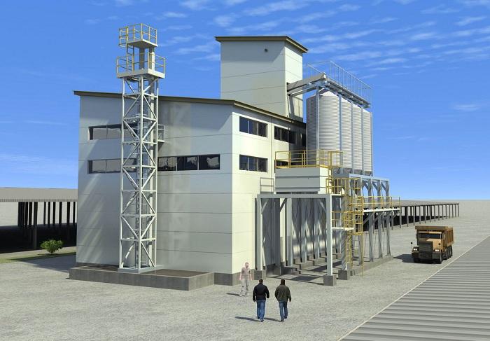 Проект завода по производству комбикорма