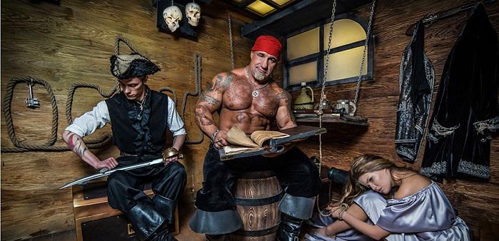 Квест Пиратские сокровища