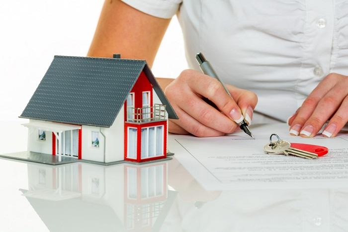Подписание договора купли-продажи недвижимости