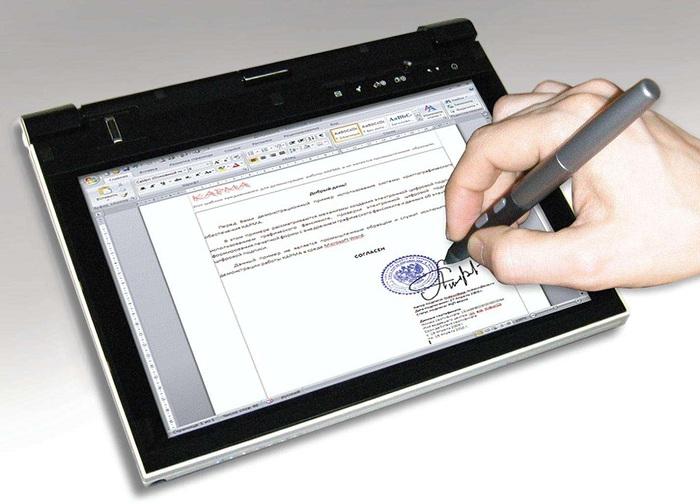 Использование электронных подписей