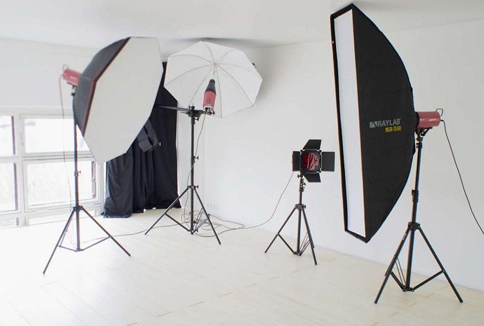 Освещение в фотостудии