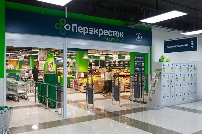 """Как выглядят магазины """"Перекресток"""""""