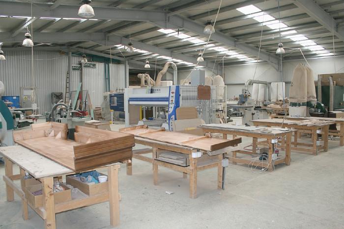 Цех производства корпусной мебели