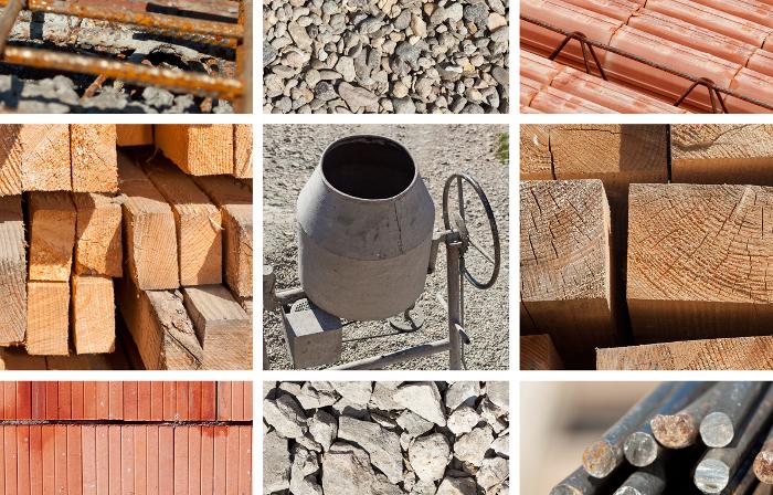 Разновидности строительных материалов.