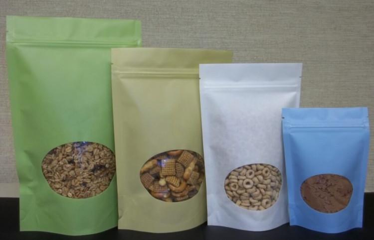 Бумажная упаковка сыпучих продуктов