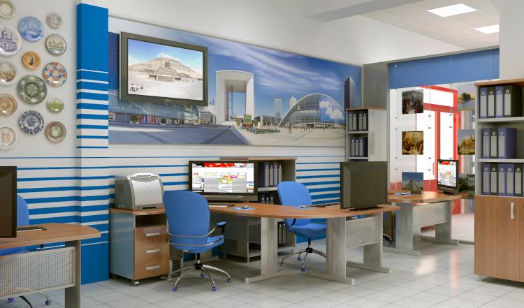 Офис туристической фирмы