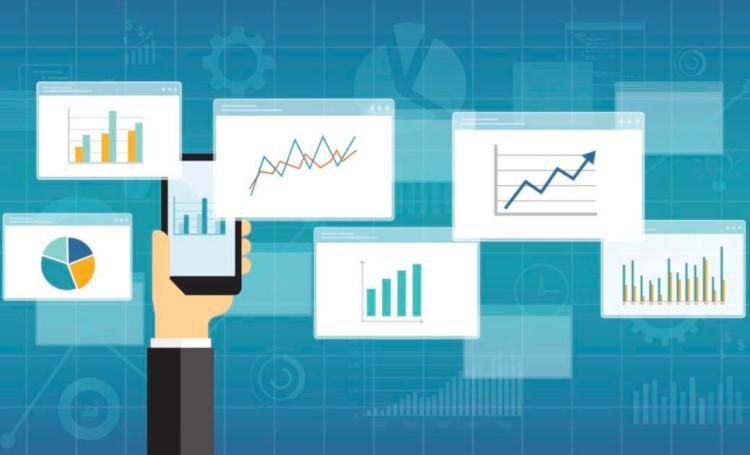 Графики продаж и прибыли