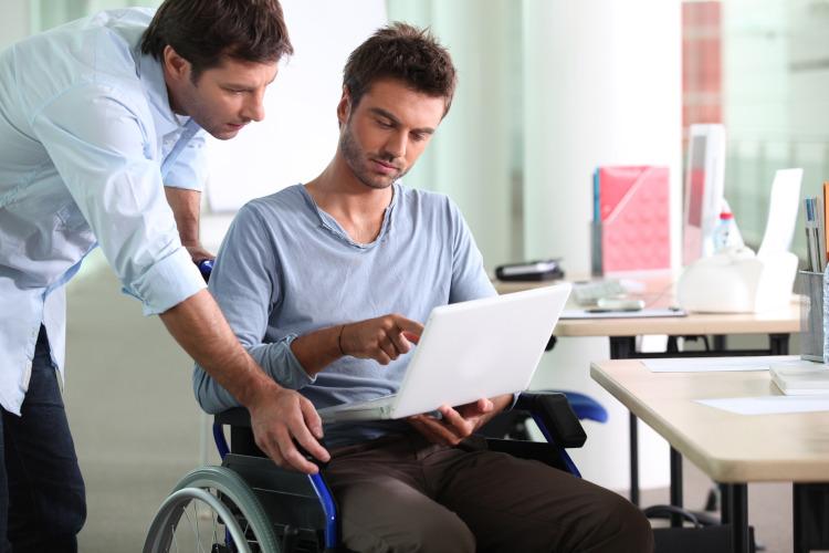 Рабочее место инвалида по квоте