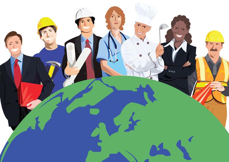 Востребованные профессии в мире