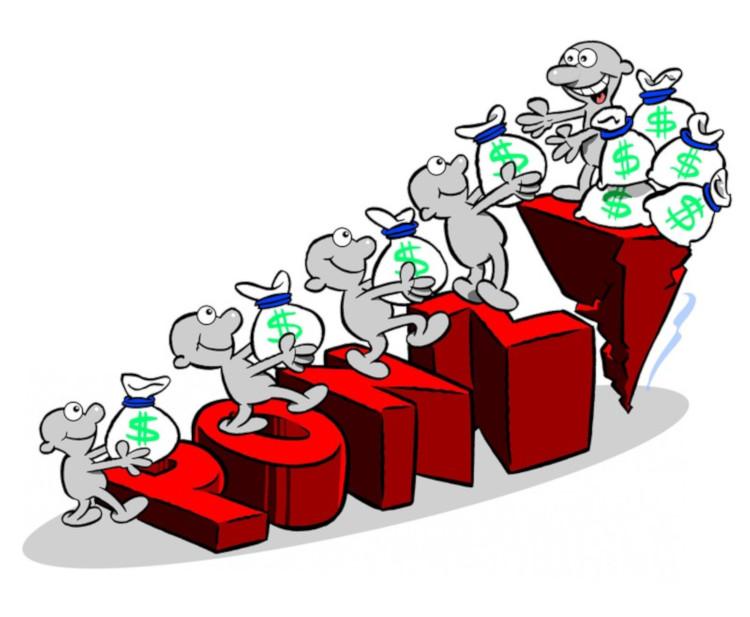 Одноуровневая финансовая пирамида схема Понци