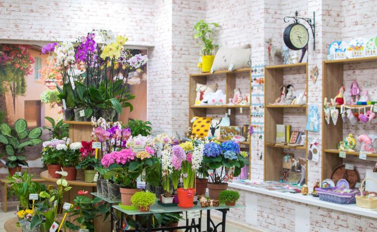 Названия цветочных магазинов