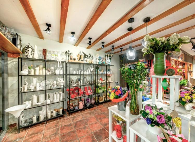 Цветочный магазин интерьер