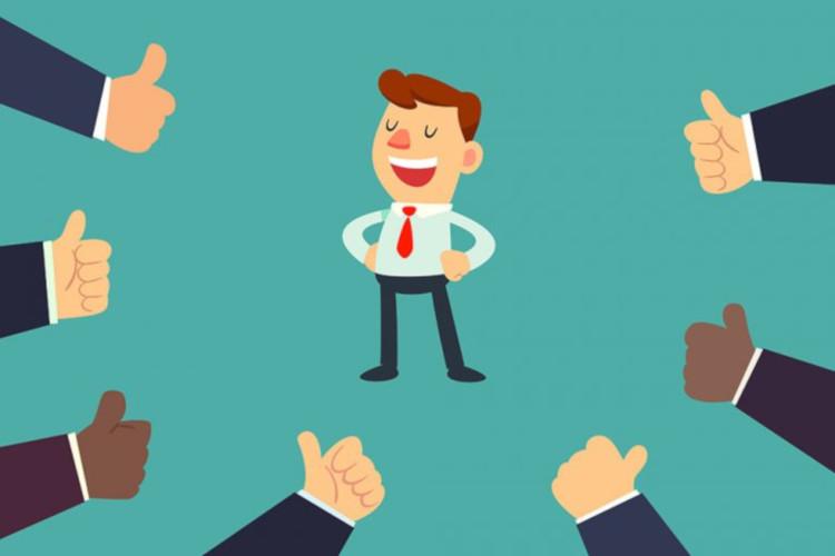 Публичная похвала метод нематериальной мотивации сотрудников