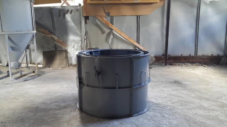 Производство жби колец виброформа