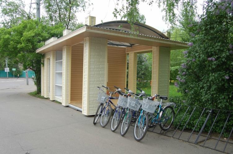 Велопрокат в парке