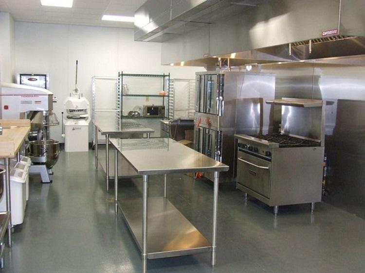 Кухня пекарни