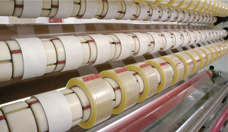 Изготовление клейкой ленты