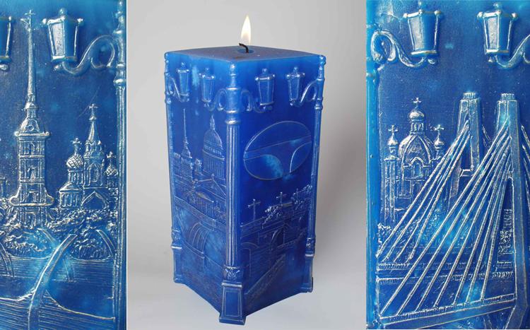 Создание оригинальных свечей