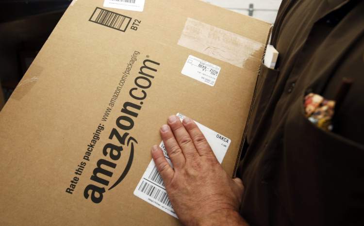 Доставка товаров Амазон