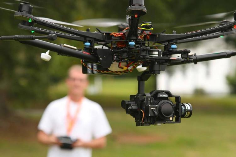 Квадрокоптер для съемок