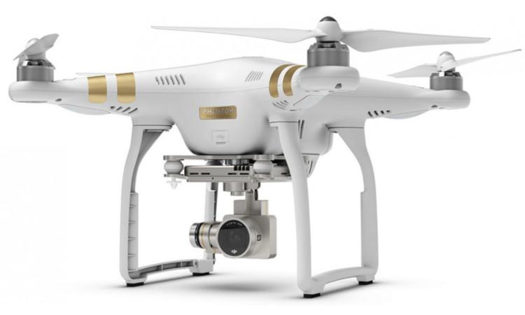 Квадрокоптер с креплениями для камеры