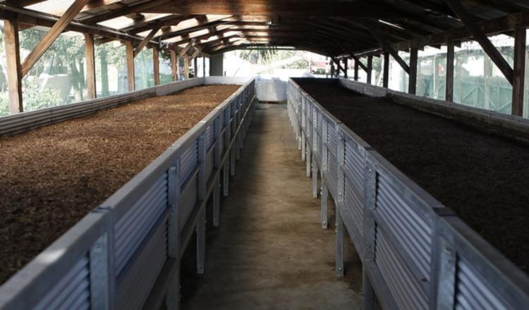 Производство биогумуса в промышленных условиях