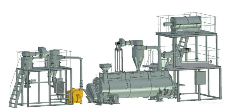 Оборудование для производства сухих кормов