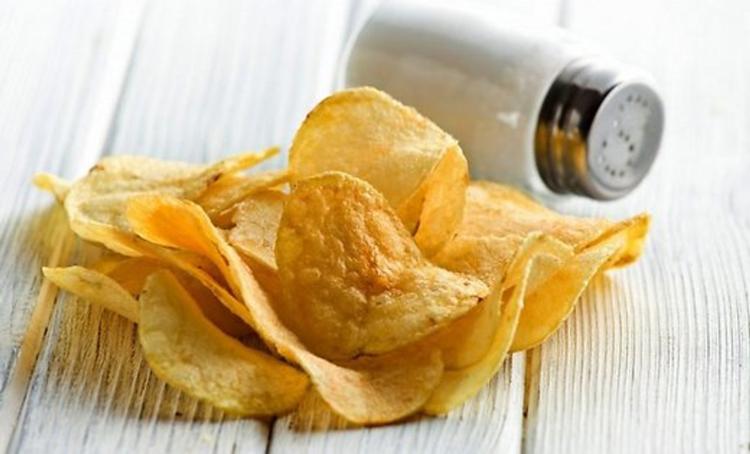 Виды картофельных чипсов