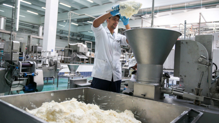 Предприятие по производству сухого молока