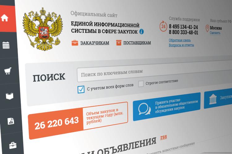Портал государственных закупок