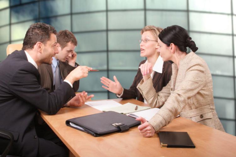 Разногласия между деловыми партнерами
