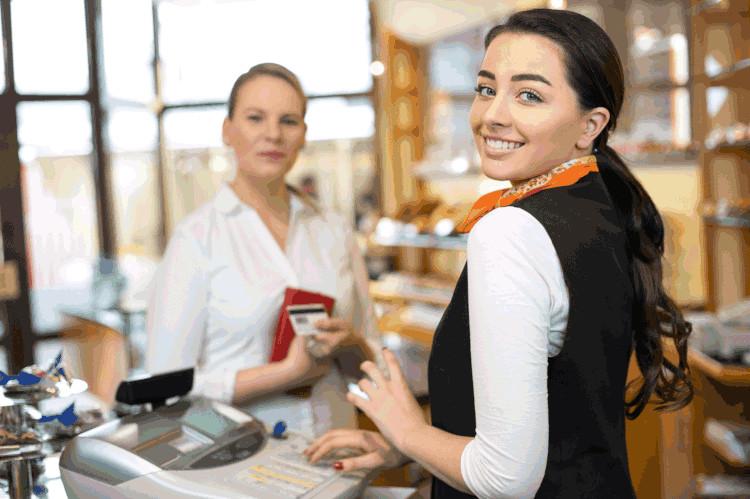 Общение покупателя и продавца