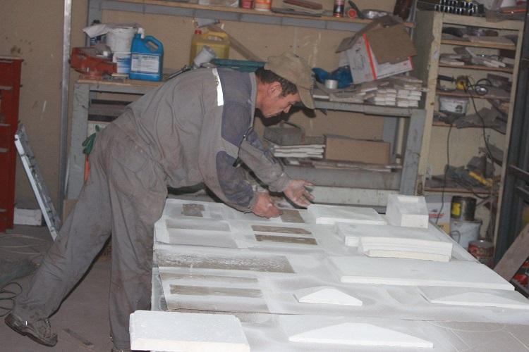 Изготовление изделий из гипса