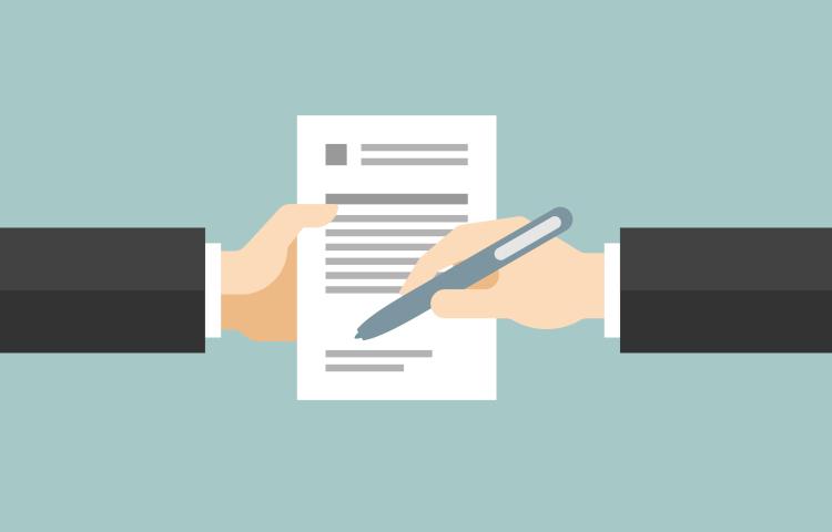 Оформление договора поручительства