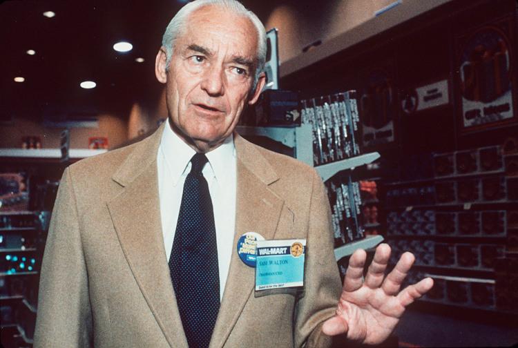 Основатель Walmart Сэм Уолтон