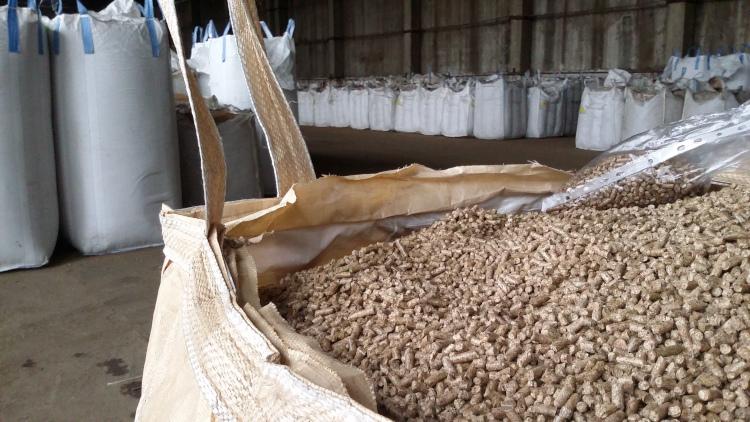 Производство пеллет из опилок