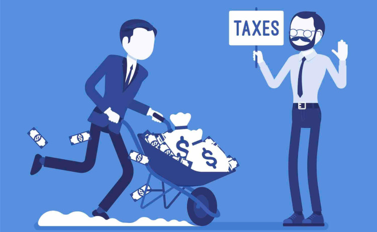 Уплата налогов юридическими лицами