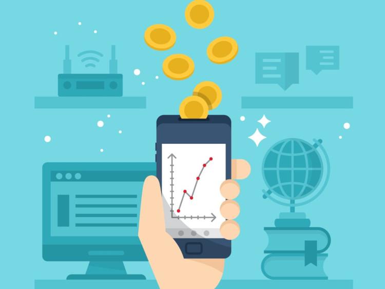 Управление средствами через мобильное приложение