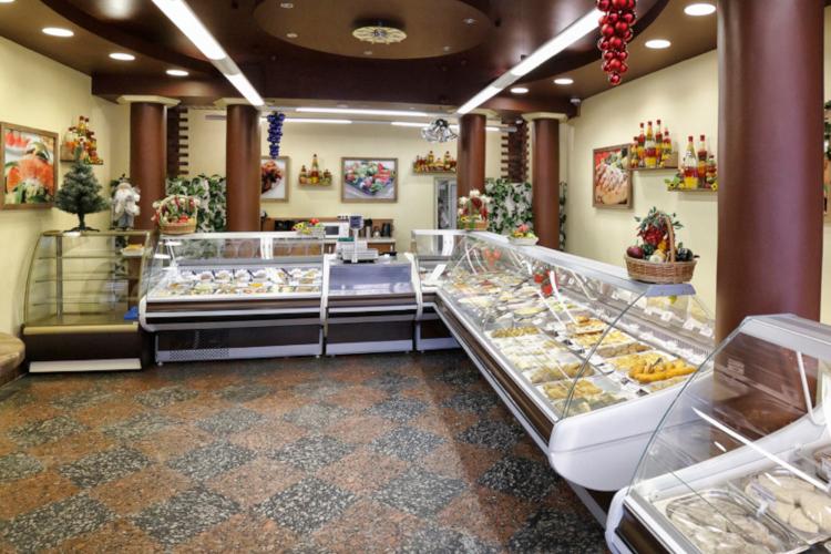 Интерьер магазин кулинарии