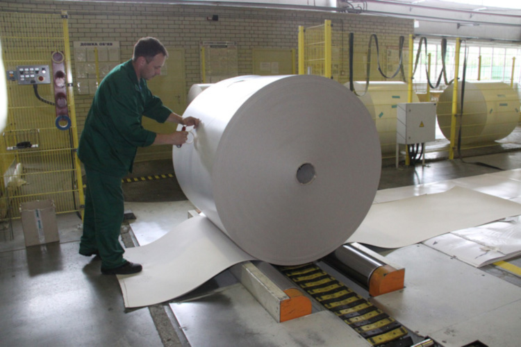Переработанная бумага