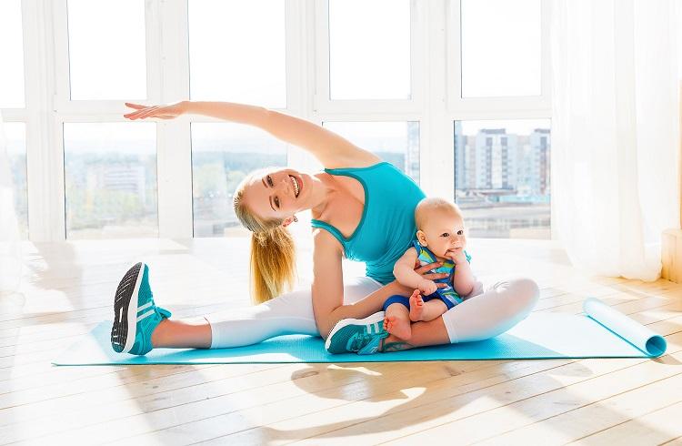 Фитнес с детьми